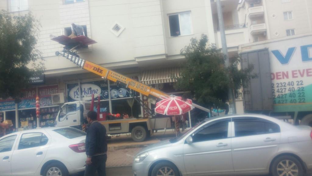 Gaziantep Evden Eve Asansörlü Taşımacılık